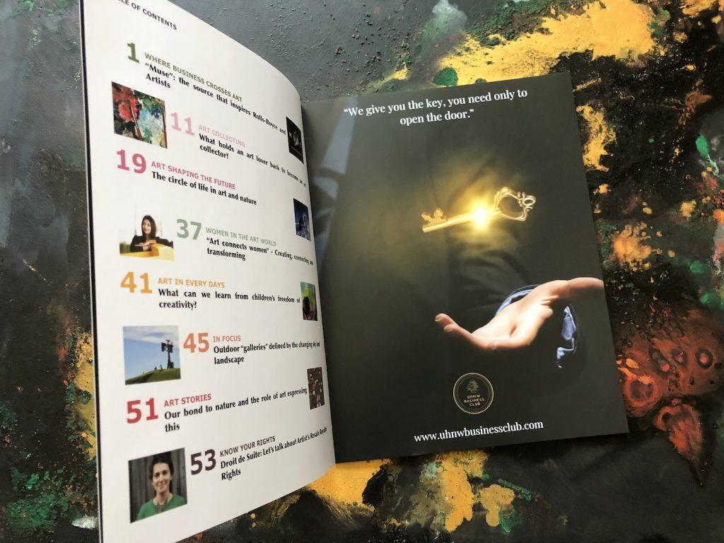 Secrets of Art Magazine - UHNW Business Club