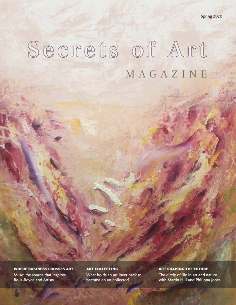 Secrets of Art Magazine cover (Spring 2020)