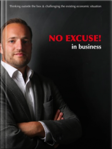 NO EXCUSE! in business book by Zsolt Szemerszky