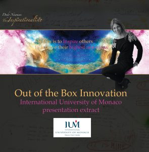 Out of the box innovation book by Dodo Newman