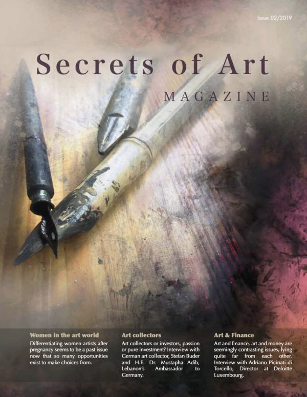 Secrets of Art Magazine cover (Autumn 2019)