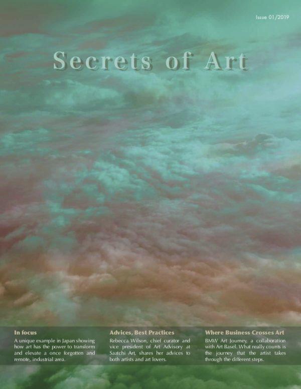 Secrets of Art Magazine cover (Summer 2019)