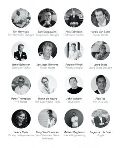 The Superyacht Industry book contributors